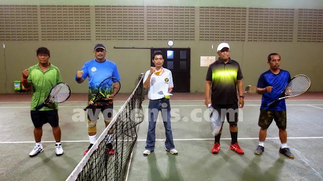 Muji Slamet Dkk Melaju ke Final Kejuaraan Tenis Kajari Cup I Tahun 2020