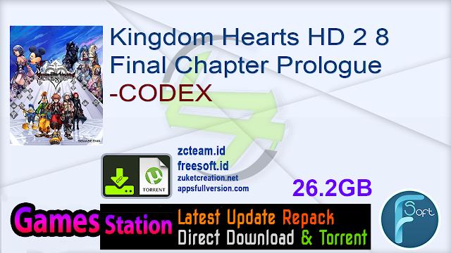 Kingdom Hearts HD 2 8 Final Chapter Prologue-CODEX