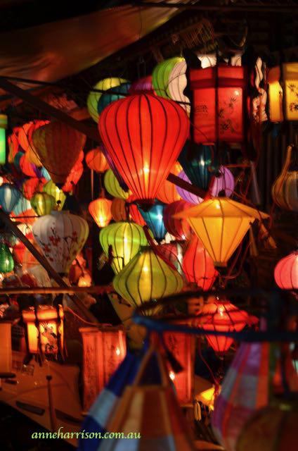 Lanterns in Hoi An, anneharrison.com.au