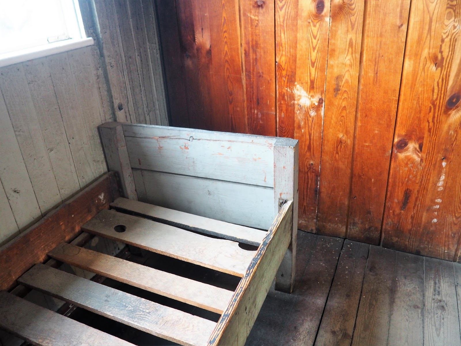 Sachsenhausen Concentration Camp bed