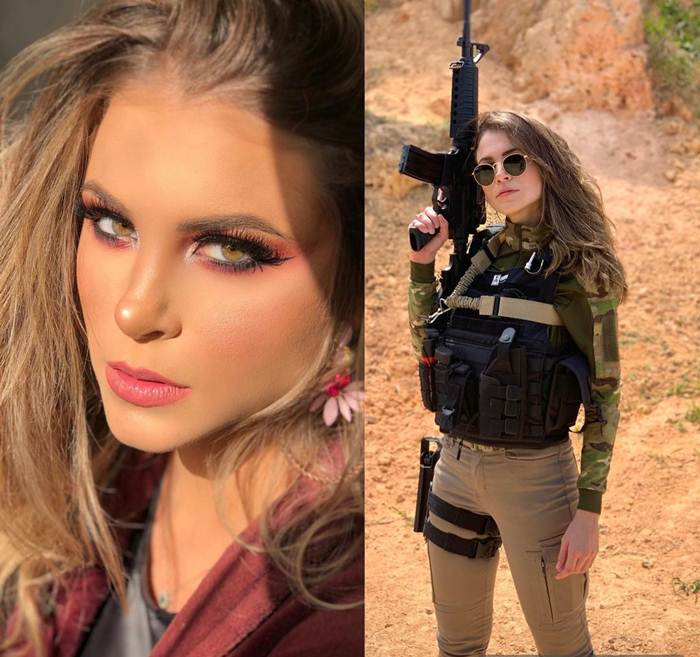 Gabriela Queiroz | Beautiful Brazilian Police officer
