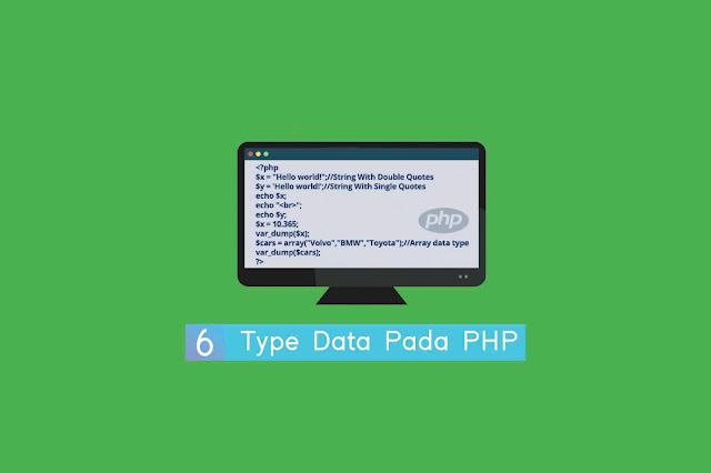 Type Data Pada PHP