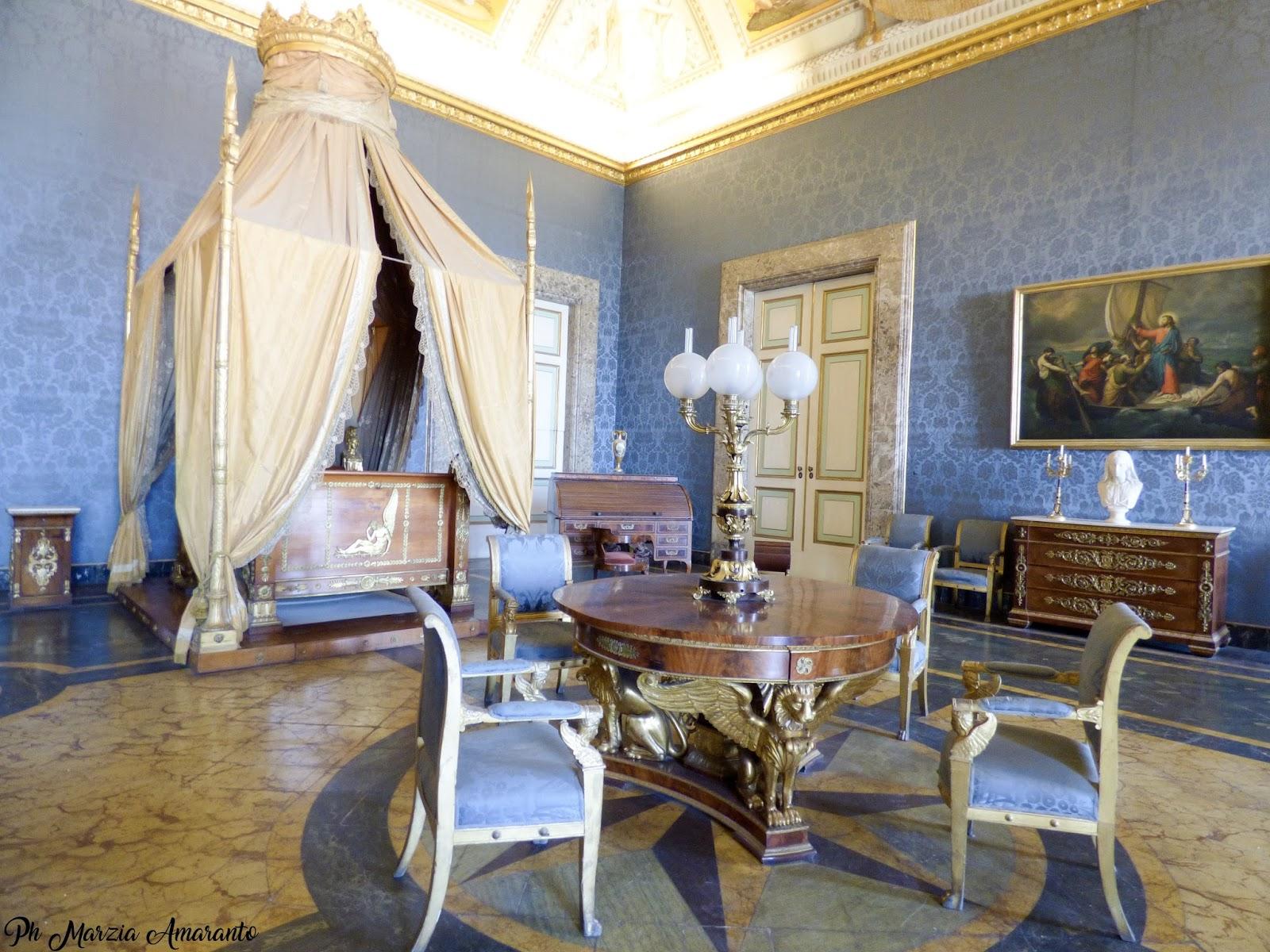 anticamera della stanza da letto di Francesco II