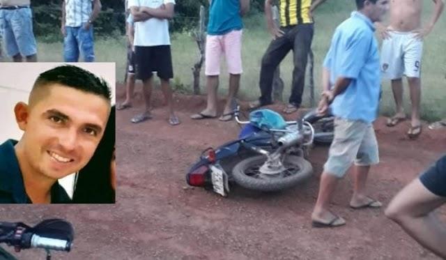 Homem morre após perder controle de moto em Sigefredo Pacheco
