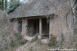 Lostplace Lehrstehendes Haus auf dem Blomberg in Bad Laer