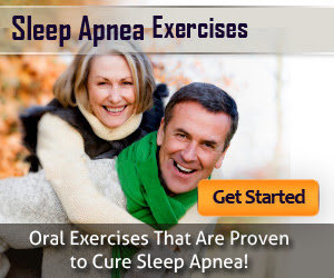 Sleep Apnea Exercise