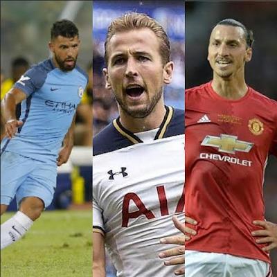 Senarai Penjaring Gol Terbanyak EPL 2016-2017
