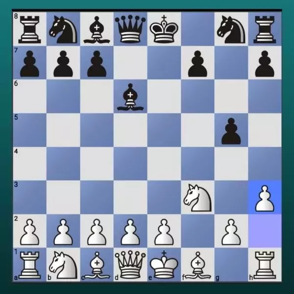 Fool's Mate, Mate in 2 moves