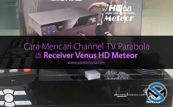 cara menambah channel tv parabola venus