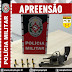 POLÍCIA MILITAR APREENDE ARMA DE FOGO EM TAVARES-PB