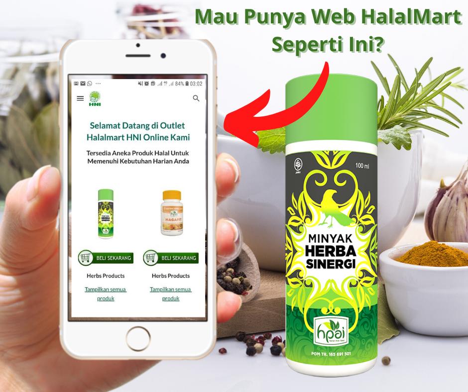 Gambar Promosi Web HNI Halal Mart