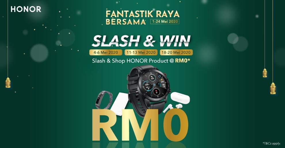 Honor Malaysia - Ramadan Flash Deals on Hihonor
