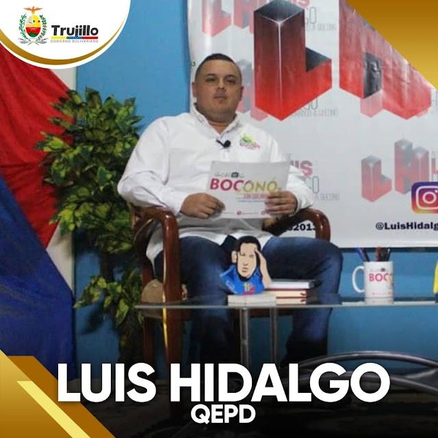 Murio Luis Hidalgo, alcalde de Boconó por covid-19