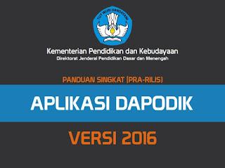 Persiapan Menyambut Rilis Aplikasi Dapodik Versi 2016