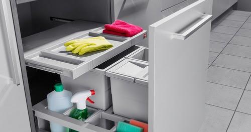 Cubo reciclaje cajon separato k tu cocina y ba o - Cubos reciclaje cocina ...