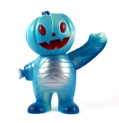 Blue Magic Pumpkin Boy Vinyl Figure by Super7
