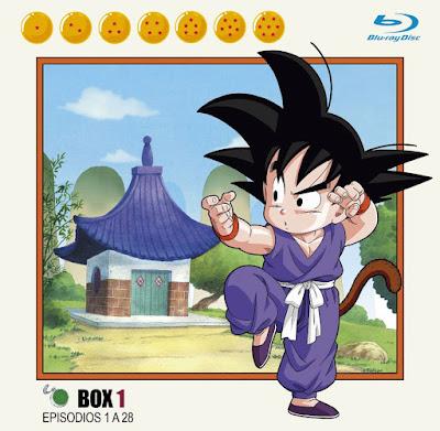 """Desvelada la primera portada de la edición Blu-Ray de """"Dragon Ball""""."""