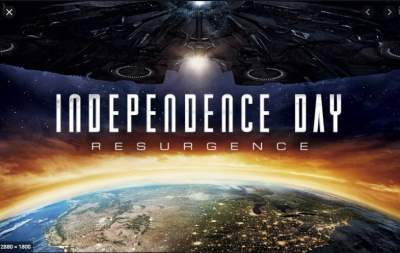Independence Day Resurgence 3D HOU Hindi - English Download 1GB 720p BluRay