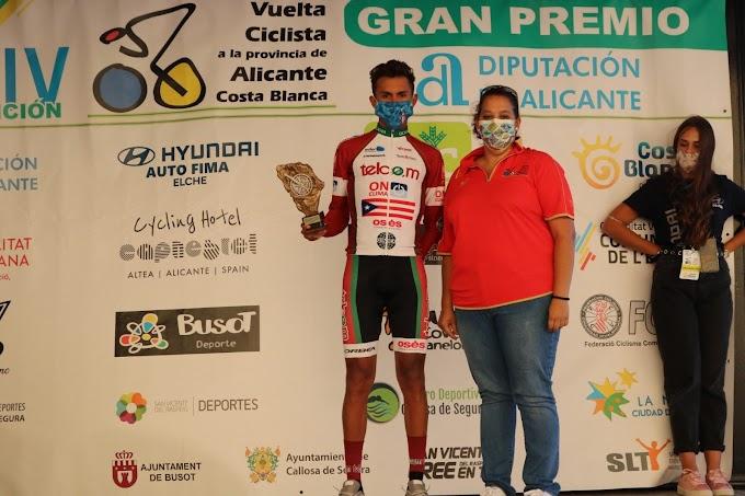 Abner González ganó la segunda etapa de la Vuelta a Alicante