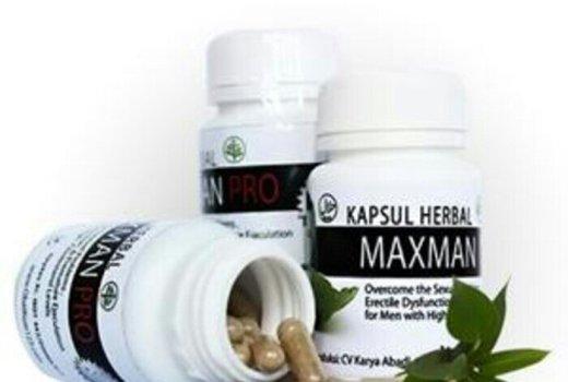 Jual kapsul maxman pro Herbal Suplemen Pria Dewasa di Surabaya