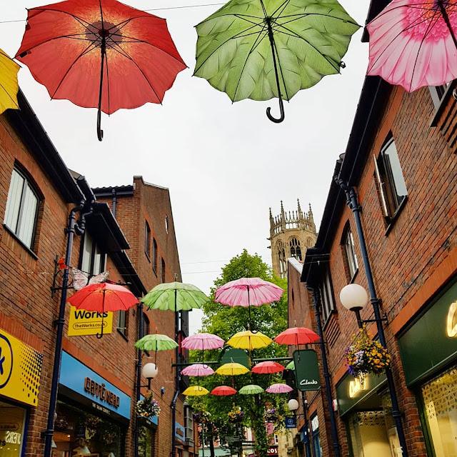 umbrellas coppergate york