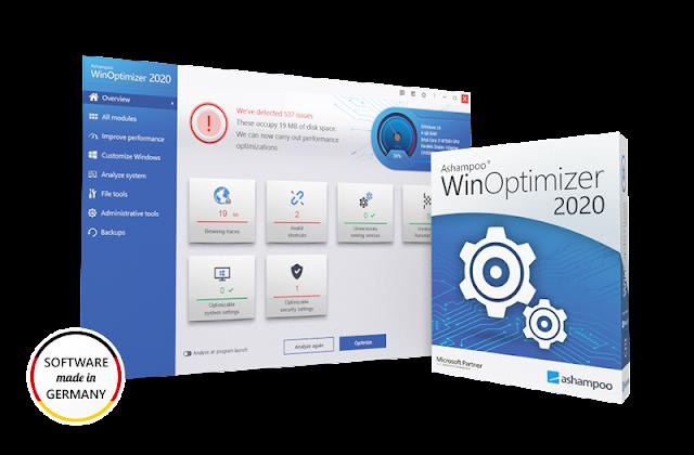 تحميل و تثبيت برنامج Ashampoo WinOptimizer 18.0 مجانًا للويندوز