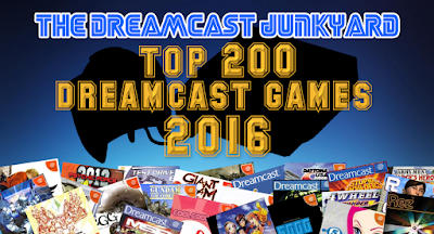 The dreamcast junkyard the top 200 dreamcast games 2016 as voted by