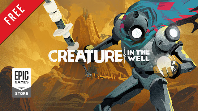 creature in the well free pc game epic games store 2019 top-down pinball style hack and slash dungeon crawler game flight school studio mwm interactive