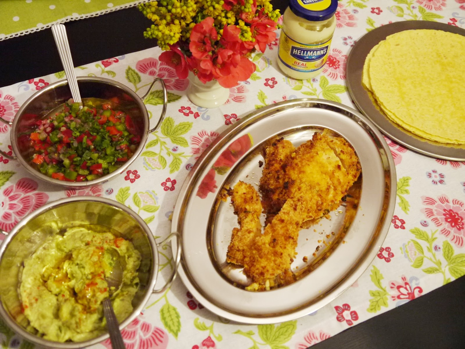 Hellmann's® Chicken Dinner Recipe - BirdsParty.com
