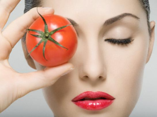 Tomato dan kecantikan.