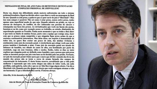 carta comovente juiz detentos viraliza direito