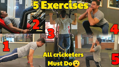 cricket fitness exercises