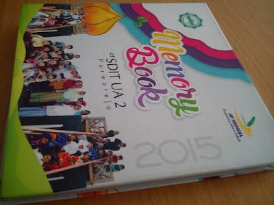Cetak - Pembuatan buku tahunan atau memory book untuk sekolahan di Purworejo