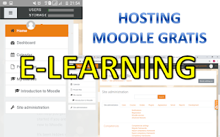 membuat elearning moodle hosting gratis