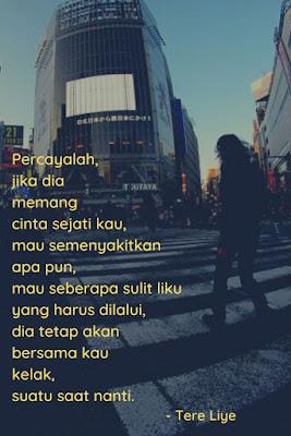 quotes kamu adalah alasan karena cinta