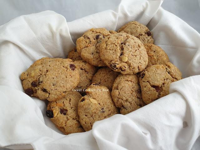 Cookies con pasas  y mas