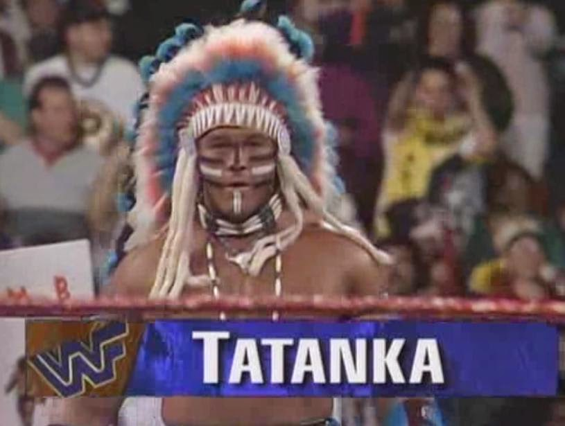 WWF / WWE ROYAL RUMBLE 1994: Tatanka faced old rival Bam Bam Bigelow