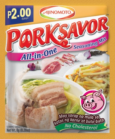 Savor the deliciousness of the new Porksavor™