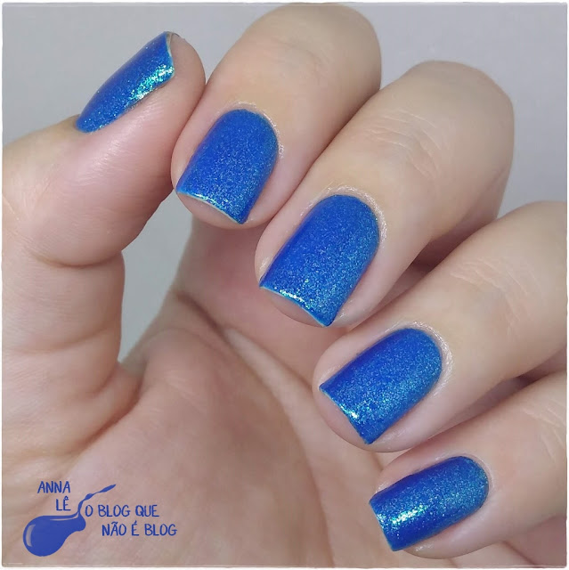 Mermaid New Look Esmalte Importado Azul Blue Bleu
