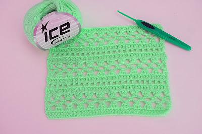 3 - Crochet Imagen Puntada para blusas y canesú muy facil y rapido por Majovel Crochet