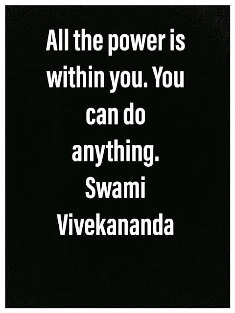 Vivekananda thoughts