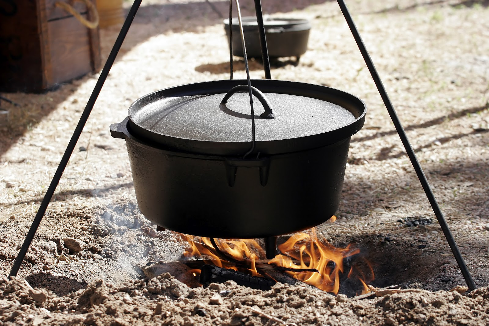 Farmington ut west stake provident living dutch ovens for Dutch oven camping recipes for two