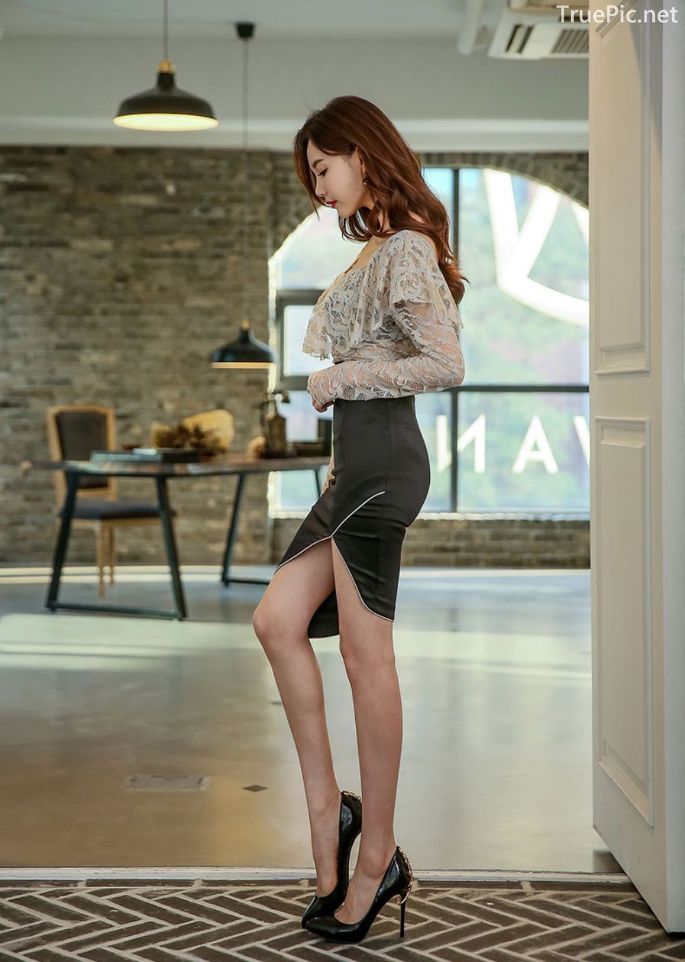 Korean Fashion Model - Hyemi - Indoor Photoshoot Collection - TruePic.net - Picture 8