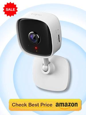 Door Security Camera: Full HD Indoor with Wi-Fi