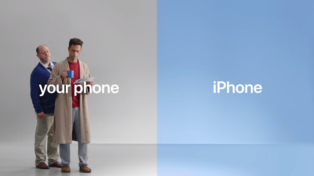Apple posted three new ads as part of the campaign on YouTube appealing Android users to switch to iPhone.