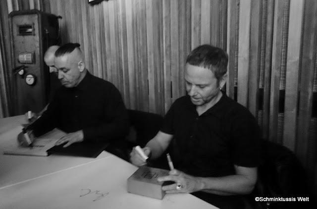 Autogrammstunde Rammstein Berlin