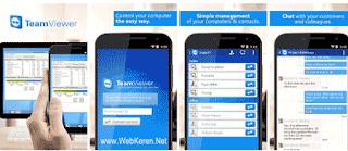 Aplikasi Remote Komputer PC dari jarak jauh dengan Android Terbaik TeamViewer for Remote Control