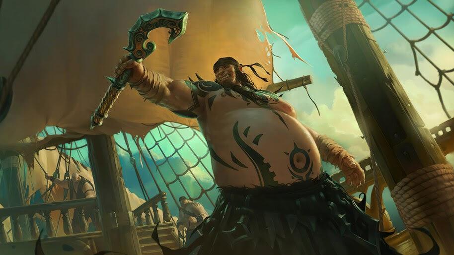 Jagged Butcher, Legends of Runeterra, 4K, #3.1765