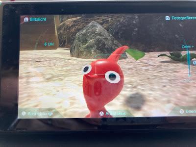 Pikmin 3 Deluxe für die Nintendo Switch - Rotes Pikmin