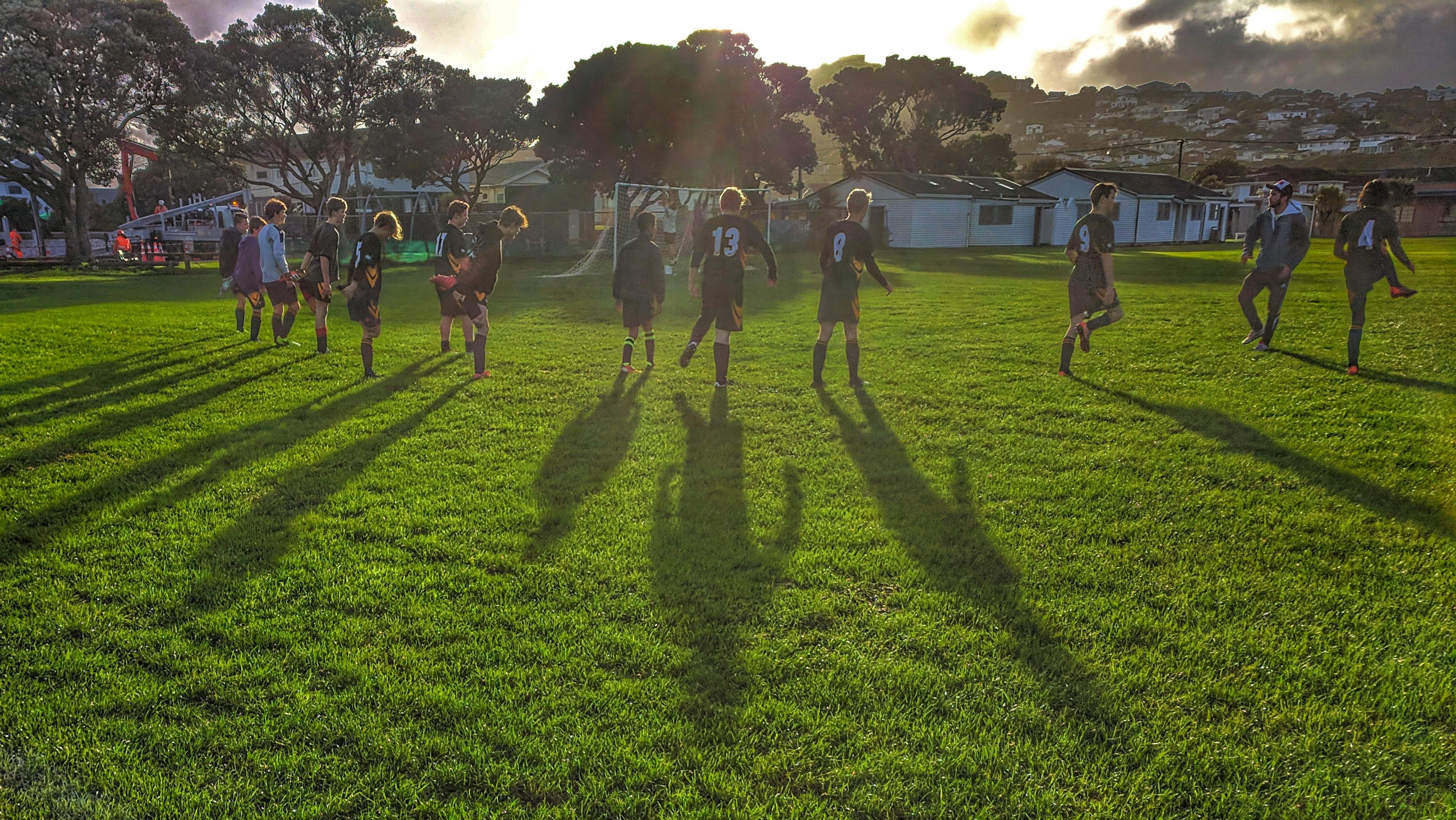 Weekend football in Miramar